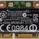 フルスペック mini PCI Express に「無線LANユニット 兼 Bluetoothユニットカード」を取り付けて、USB端子を使わずにWi-FiとBluetoothを得る